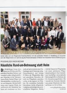 Pressebericht IHK Magazin 02/2016